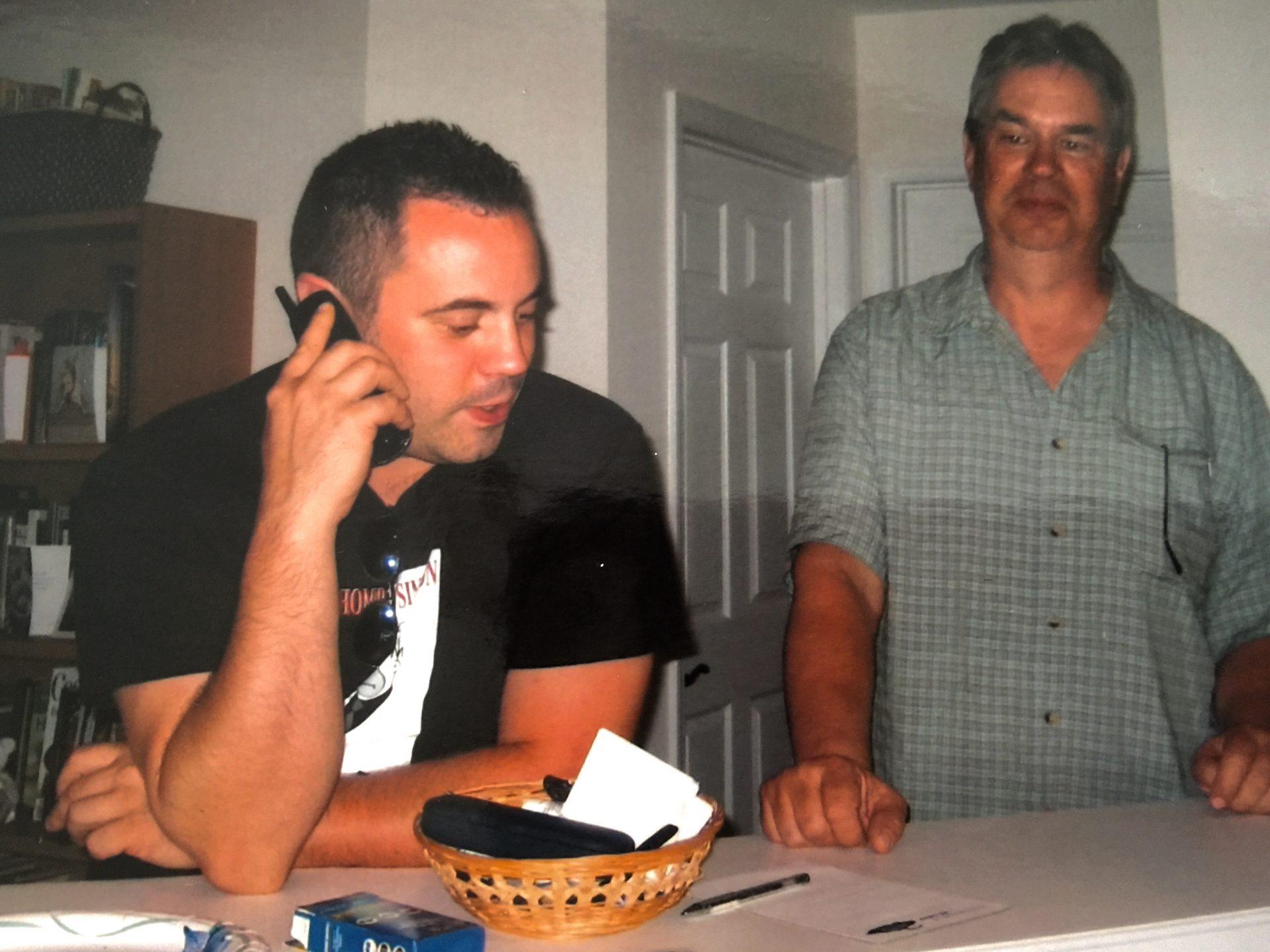 Tim & his dad, Steve