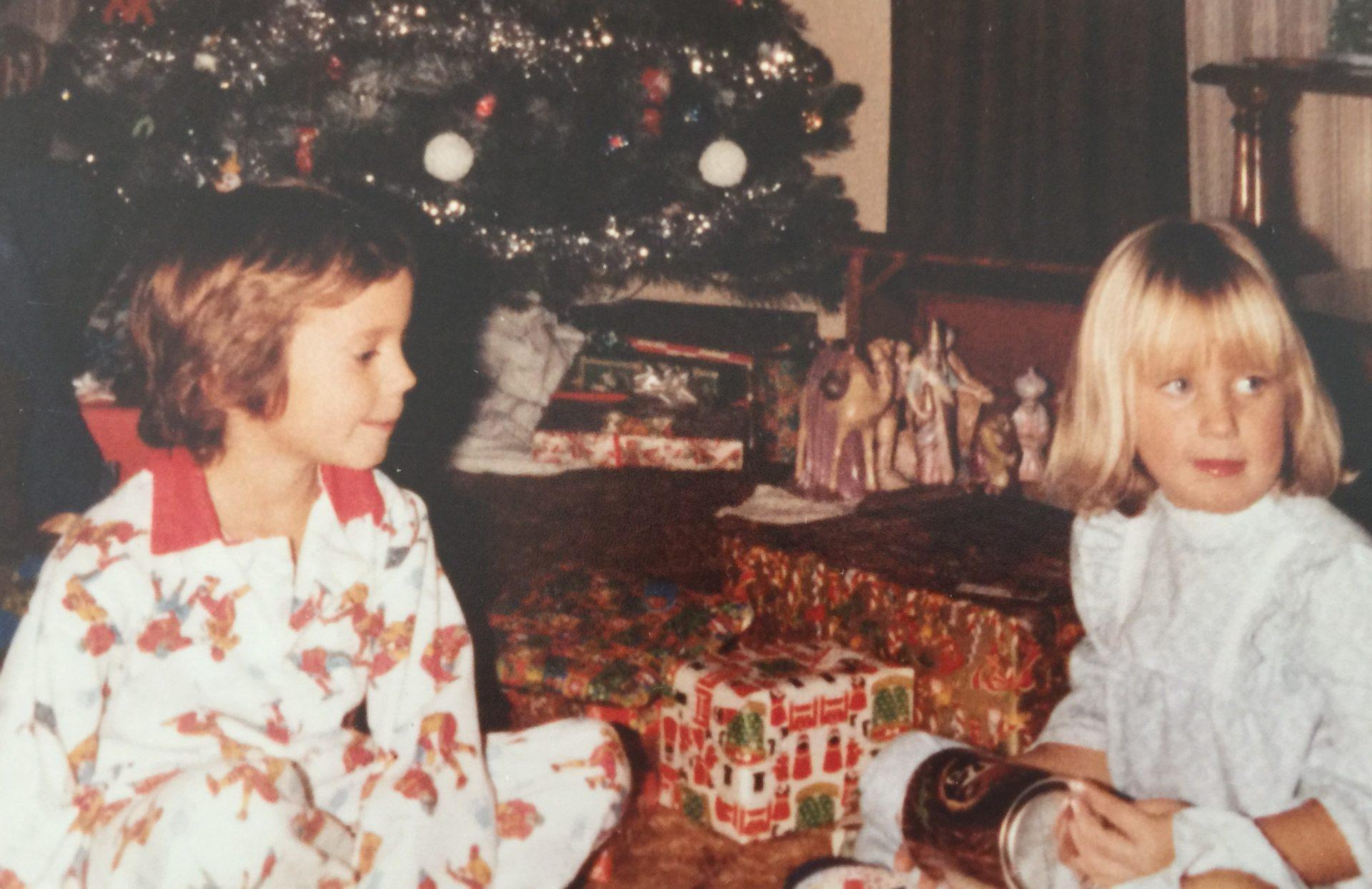 Tim & Chris <br /> Christmas at Grandma & Grandpa Kelley's