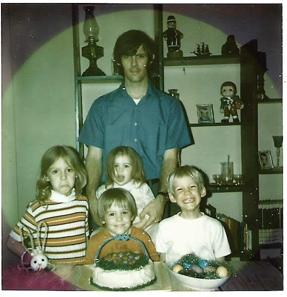 Dad with his four children, Beverly, Will, Ben & Cindi