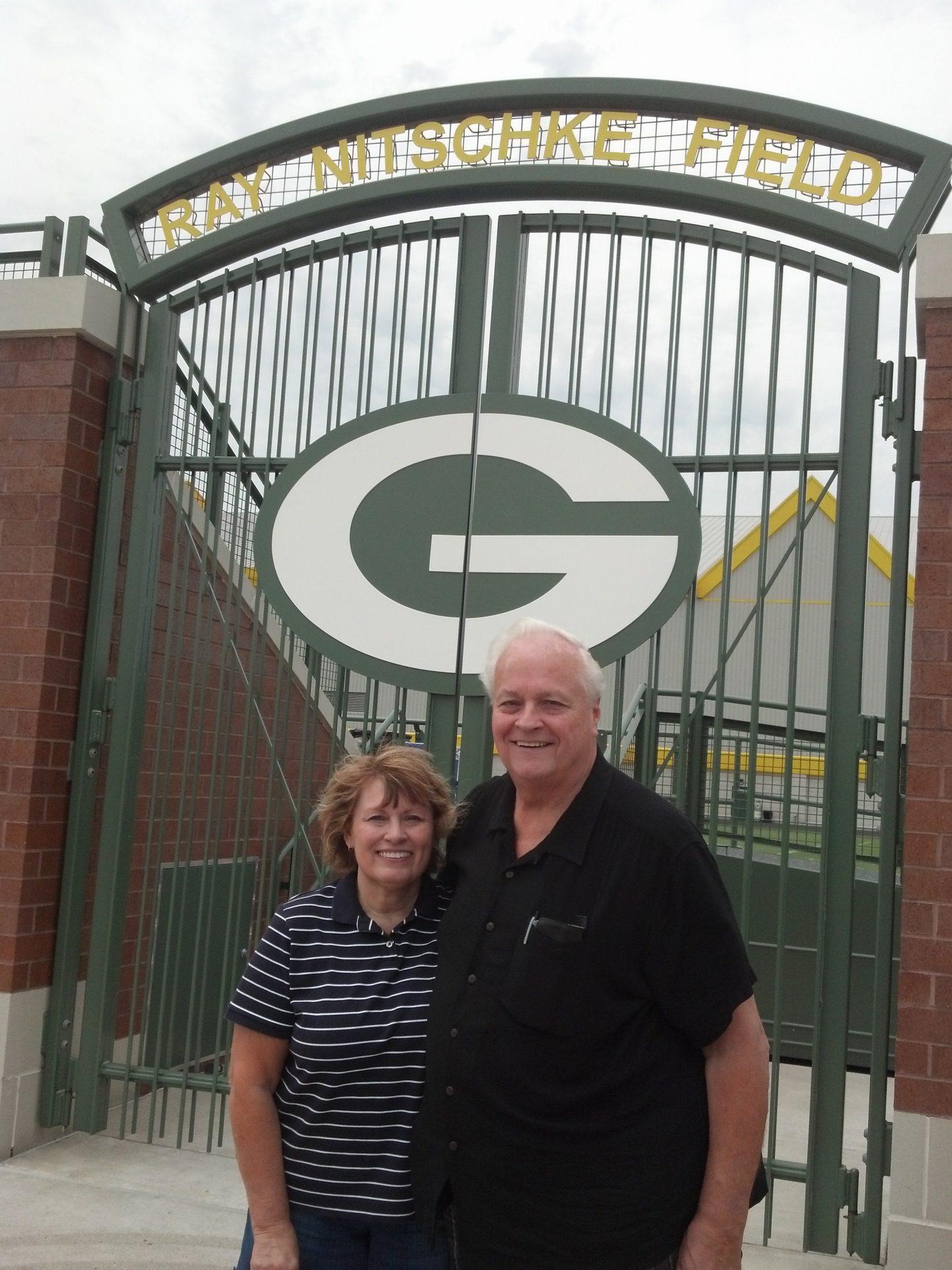 Bill was a lifelong Packers fan