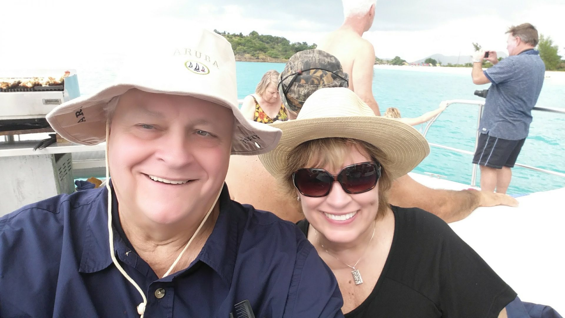 Lobster and champagne cruise in Antigua