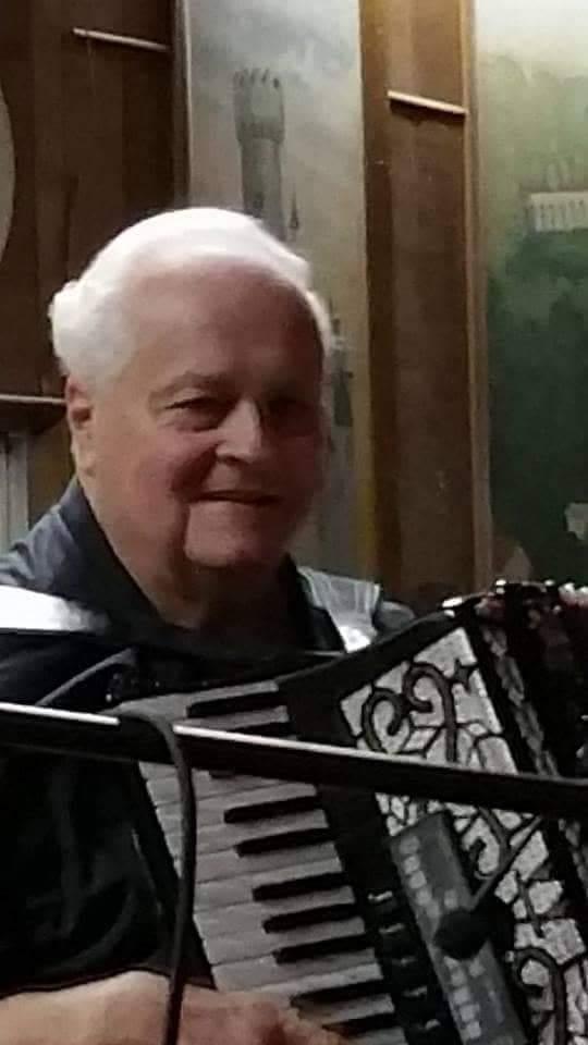 Bill sharing his musical gifts