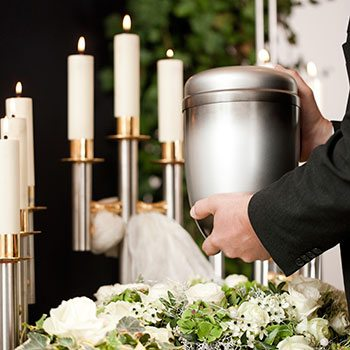 orlando funeral packages picture of an urn