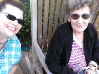 Marcie and Grandma