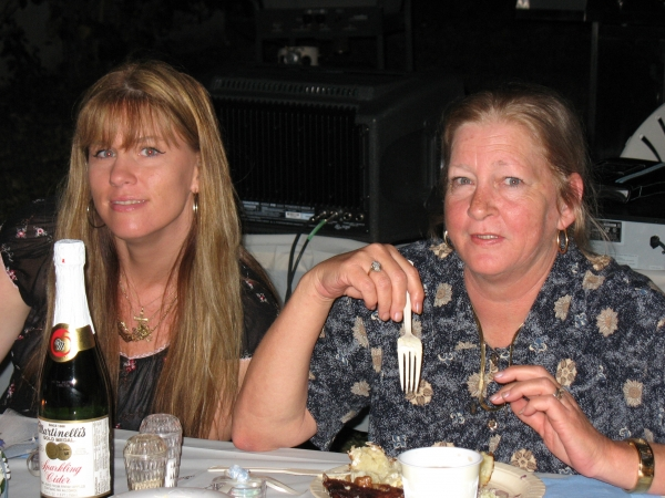 My Mom and Cindy 2006
