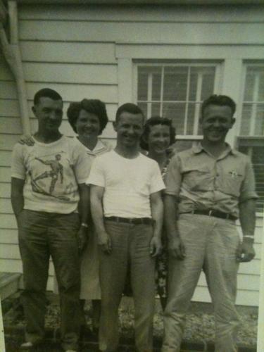 Brothers & Sisters: L-R Charles,Martha,Boyd,Ruth,Ralph