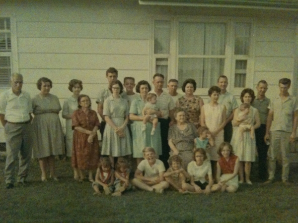Family Gathering at Ralph's house in Aug 1965
