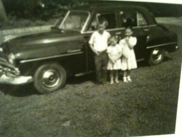 Boyd's 52 Plymouth, Brian, Margie, Marlene
