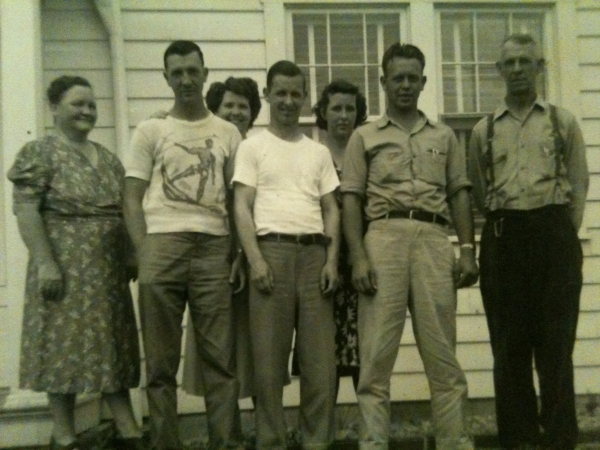 Boyd's Parents and Brothers & Sisters: Mary,Charles,Martha,Boyd,Ruth,Ralph,Lyman