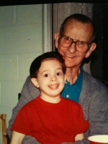 Boyd and grandson Robert Thomas Lee