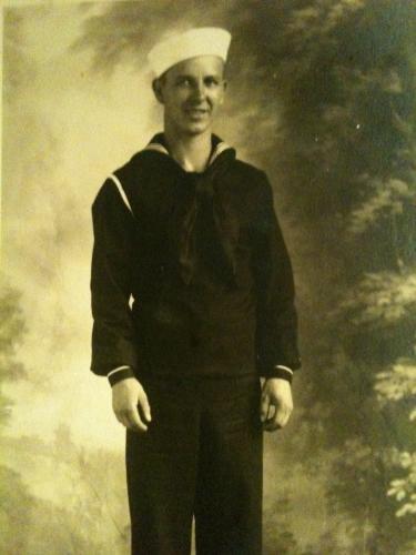 Boyd in Navy uniform 1942