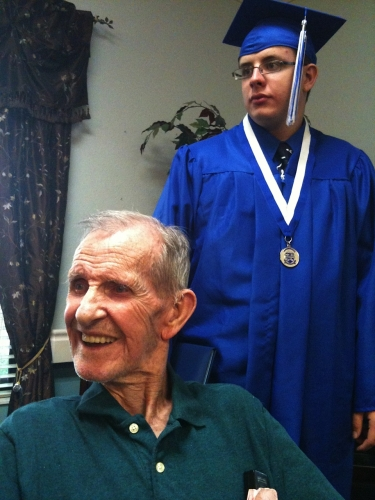 Boyd and Robert Lee Graduation Day May 2011