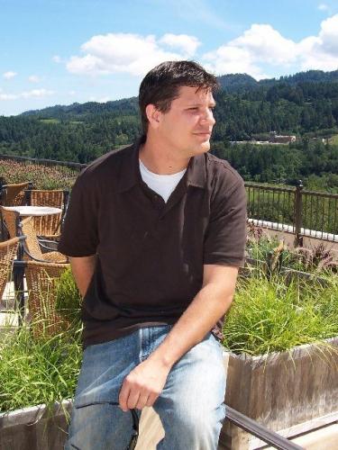 Brian in Napa Valley, 2005