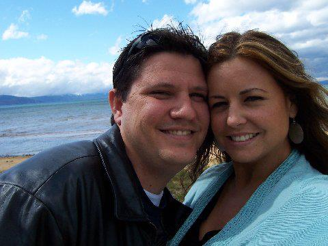 Brian and Kahlin in Lake Tahoe, CA 2005