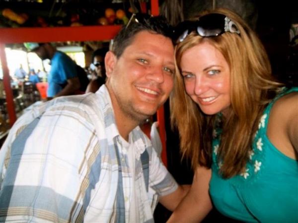 Brian and Kahlin in Nassau, Bahamas 2011