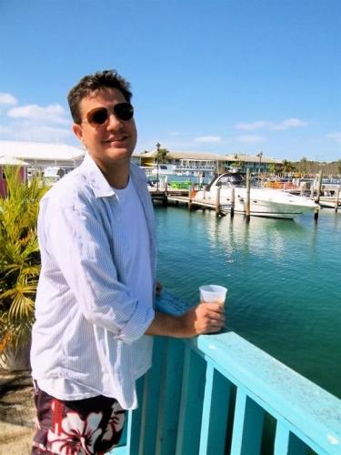 Brian in Port Lucaya, Bahamas 2011