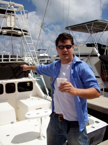 Brian at Port of Palm Beach, FL 2007
