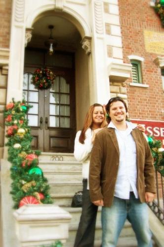 Brian and Kahlin Christmas 2008
