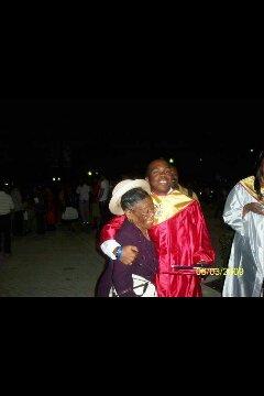 Jermain's Graduation