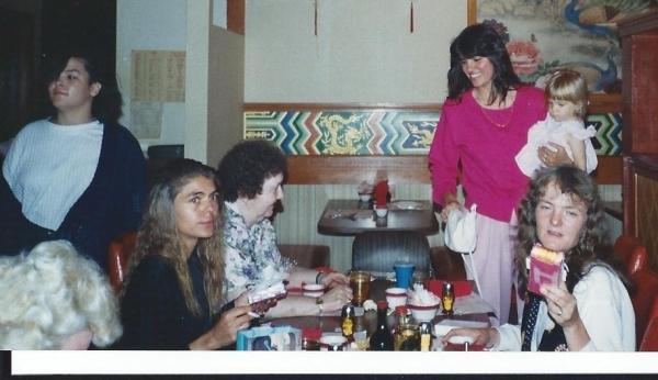 Kim, Nancy, Nan, Sue, Erica and Leah