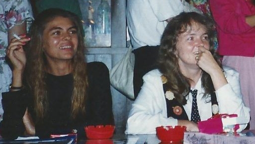 Nancy and Leah