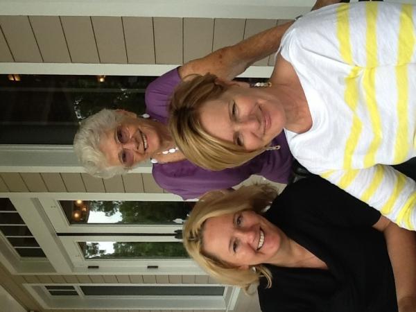 Mom, Judi and Karen - Mother's Day 2012