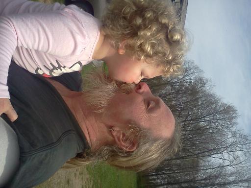 She loves her Granpa !