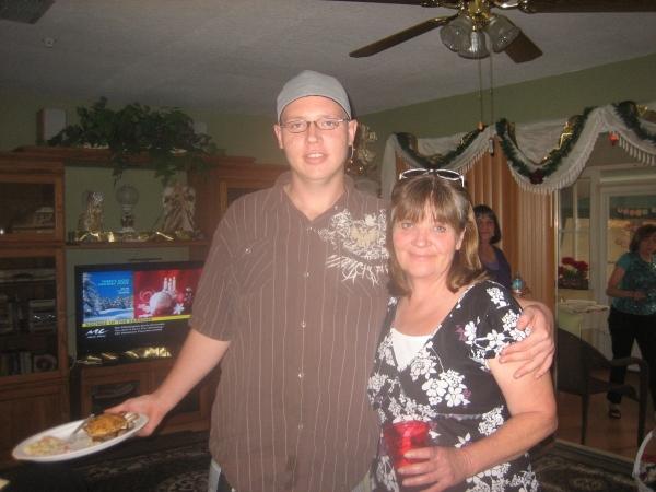 Sam & mom