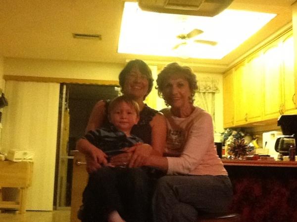 Mom, Sheila, & Connor