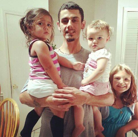 This is my brother Jon, and his three daughters.