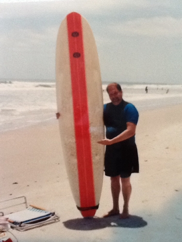 Paul the surfer