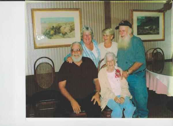 John Helmes (far right) & Family