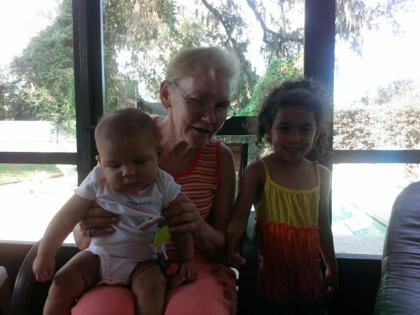 Lucinda and great granddaughters