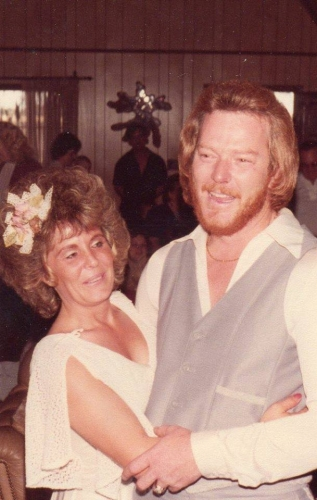 Linda and her life long partner Chuck