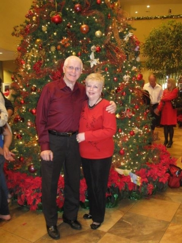 Gerald & Glenda after Christmas service at Northland Church