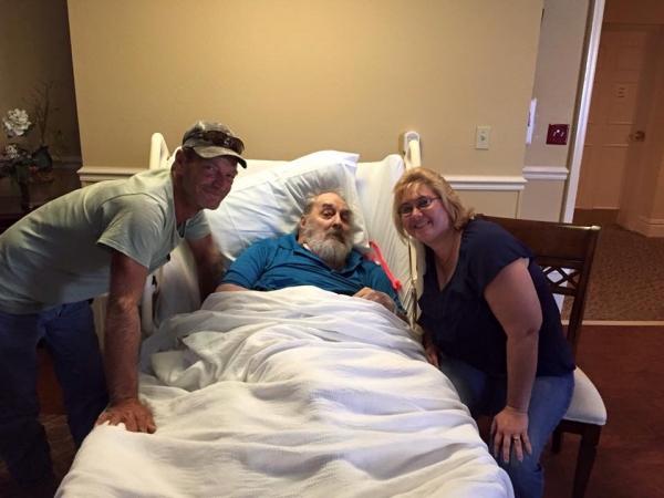 Jim & Dad & Margie