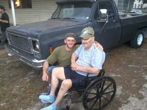 Photo of me and pawpaw