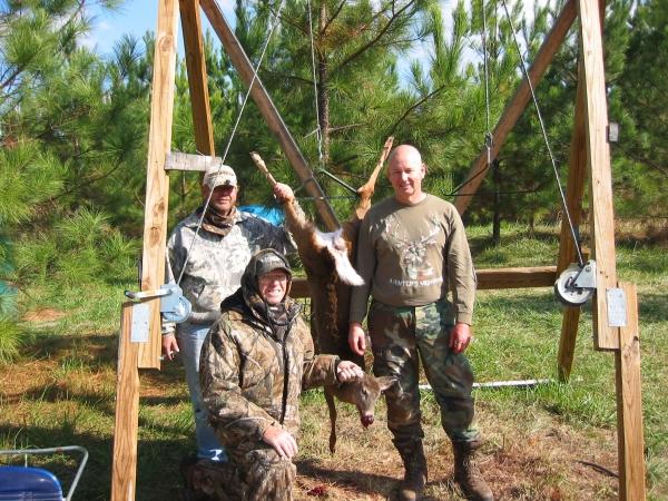 Dad, Eddie & Larry During 2007 Deer Hunting Season