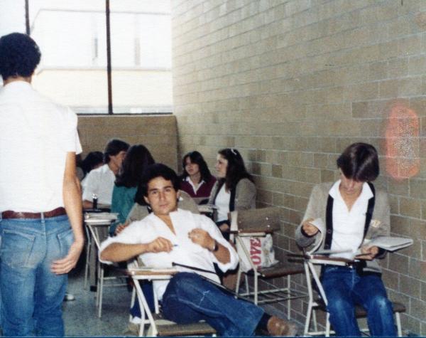 Fernando at high school