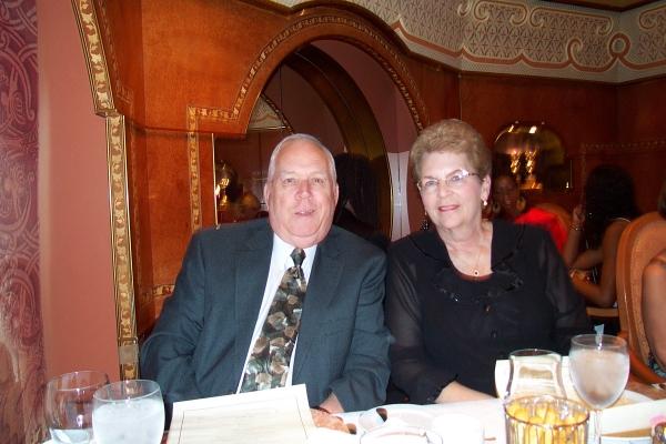 Gary & Marian on Costa Cruise