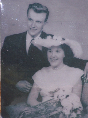 Bill and Betty's Wedding - When it all began <3